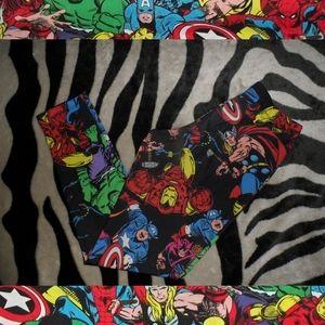 Marvel Comics Superhero Leggings